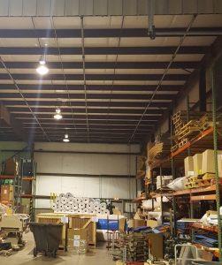 Indianapolis warehouse lighting