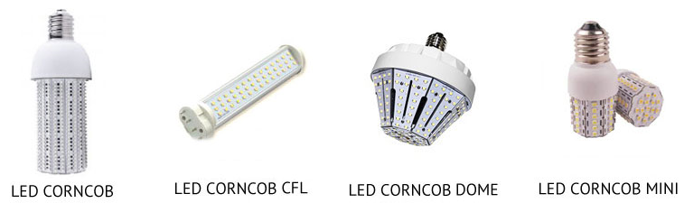 LED Corncob lamp types