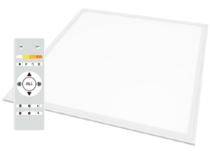 LED Flat Panel Light with remote control