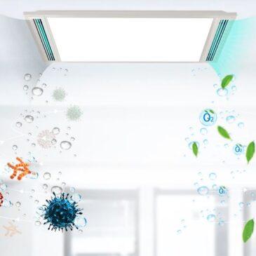 New Lighting System Removes COVID 19 Virus